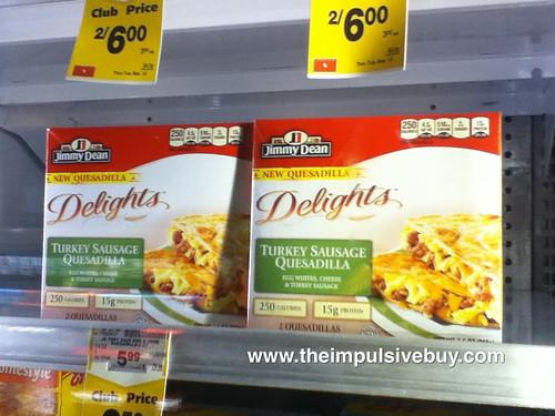 Jimmy Dean Delights Quesadilla on shelf