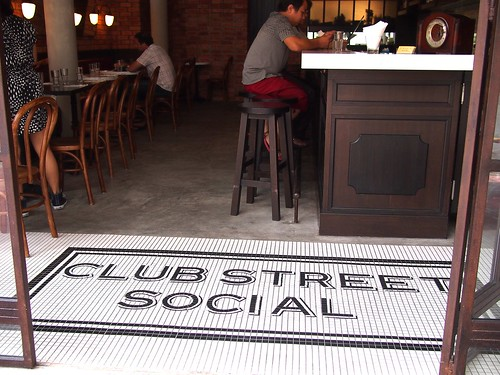 Club Street Social, Gemmill Lane, off Club Street