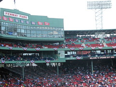 Fenway Park Opening Day 2012