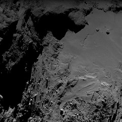 Comet 67P from a distance of 7 km on 25 May 2016