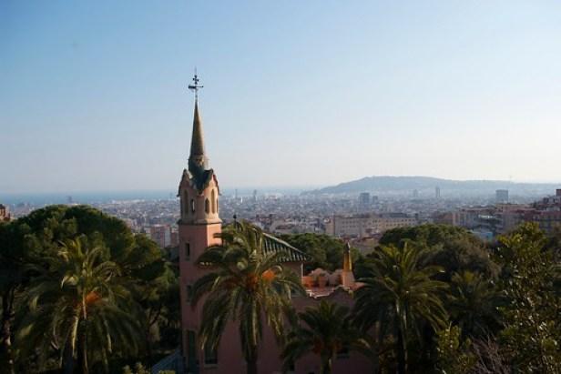 Барселона, Каталония, Испания, Парк Гуэля