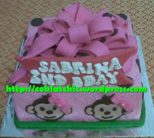 Cake Monky Girly