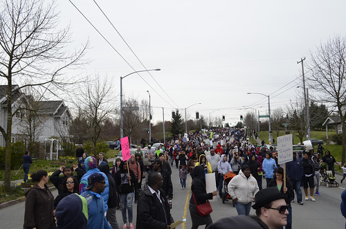Marching Down Martin Luther King Boulevard by Seattle.roamer