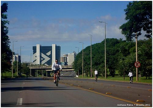 Eixão do Lazer em Brasília - Foto Adriana Paiva