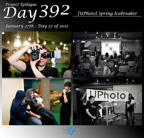 Day 392 - [UPhoto] Spring Icebreaker