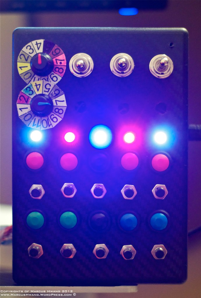 How To Build A Button Box For Ps3 And Pc 171 Marcushwang S