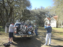 Bikes on a Truck