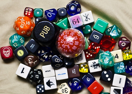 contents of my dice bag