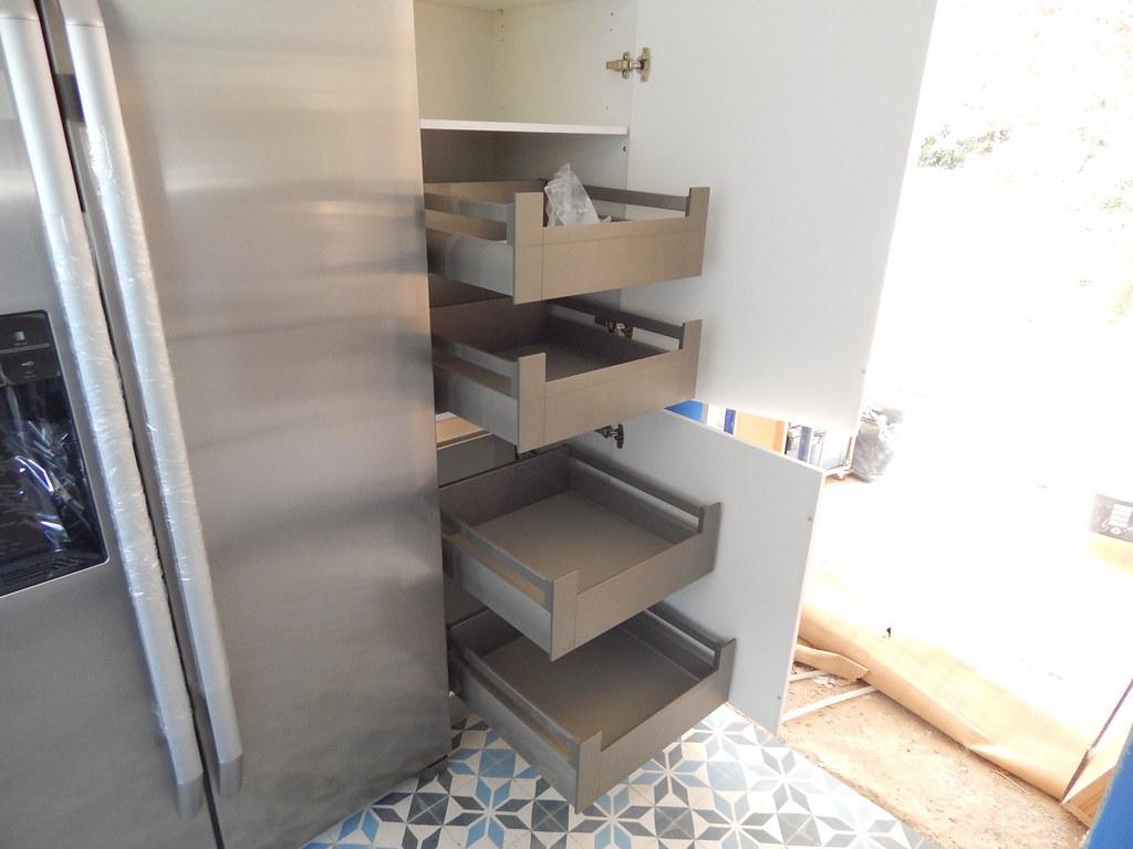 Muebles de cocina laser en blanco polar  cocinasalemanascom
