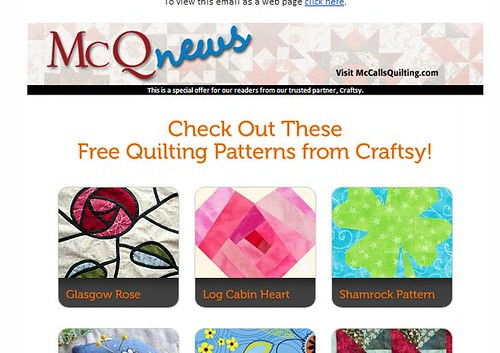 mccall news craftsy free