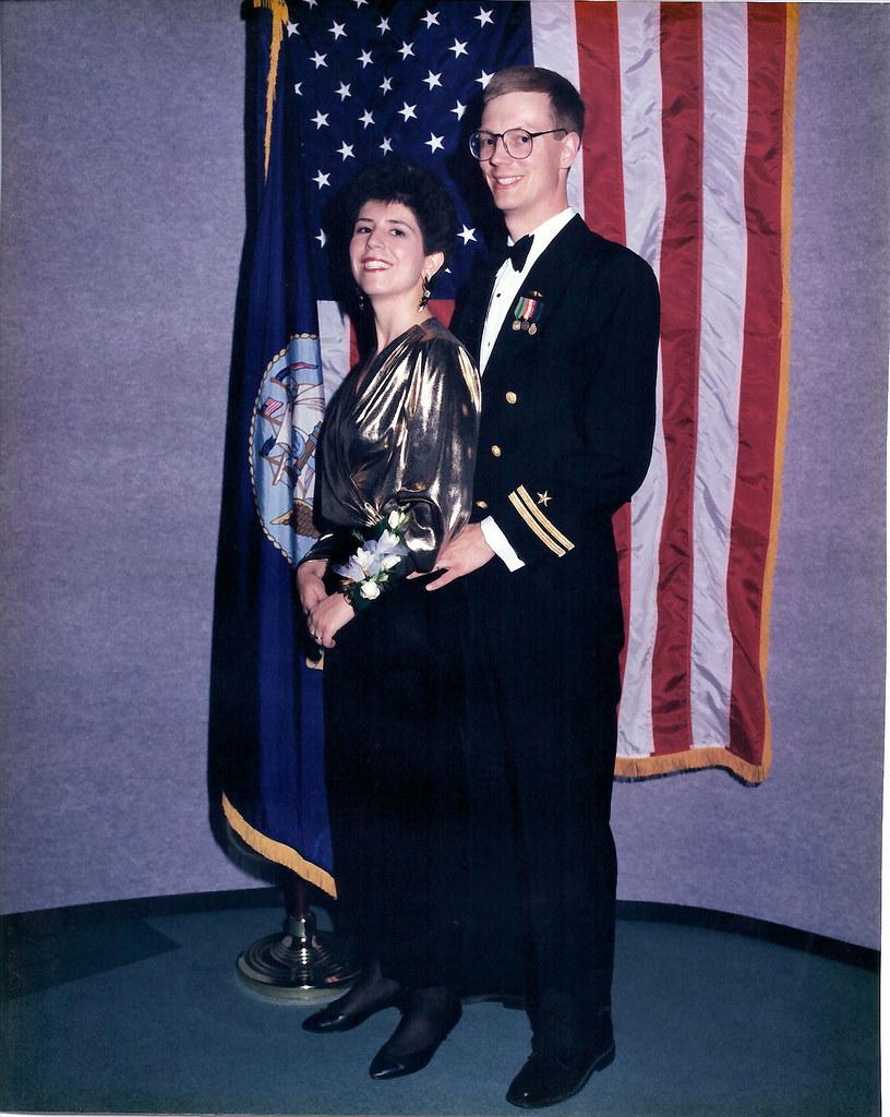 Mike Eklund and Mary Louise Bright Eklund
