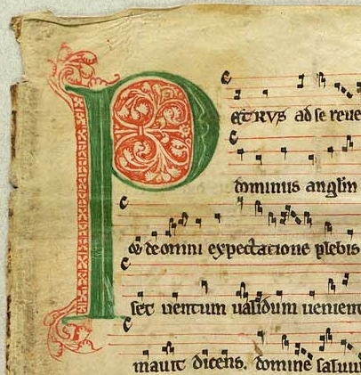 Frå Antiphonarium Nidrosiense