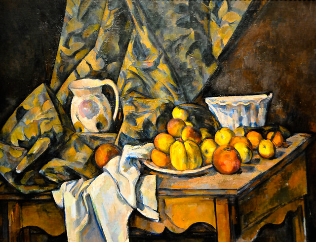 Paul Czanne  Still Life with Apples and Peaches 1905 at