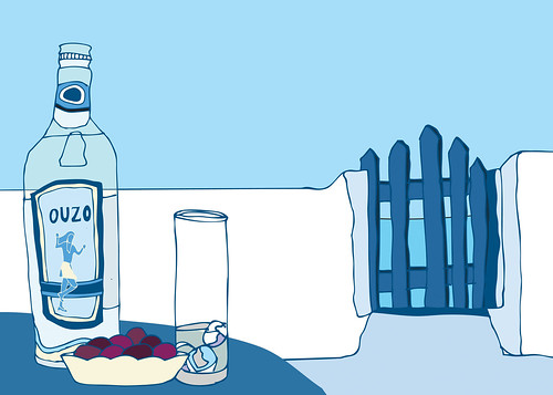 Traditionally Greek : Ouzo