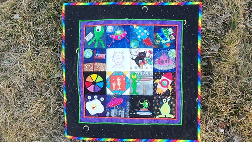 A UFO quilt to cross off my UFO list!!! by ruthiequilts
