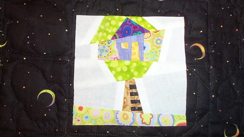 Wonky tree house block... by ruthiequilts