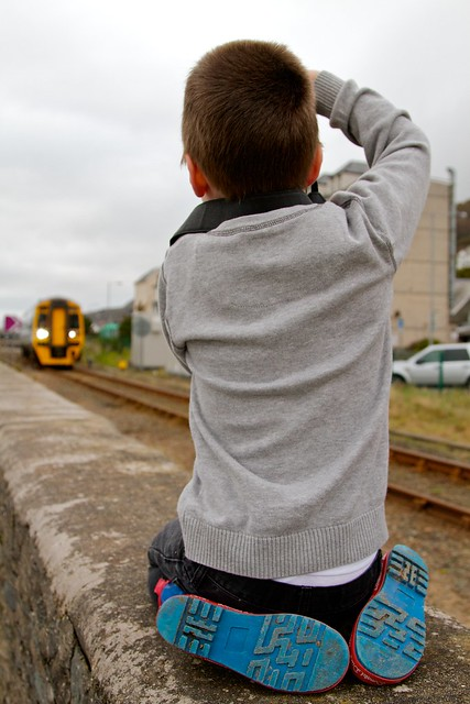 Trainspotter or photographer?