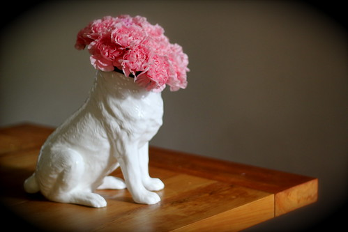 Thursday: DOG VASE! I love it