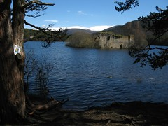 Bookcrossing for World Book Night at Loch an Eilein