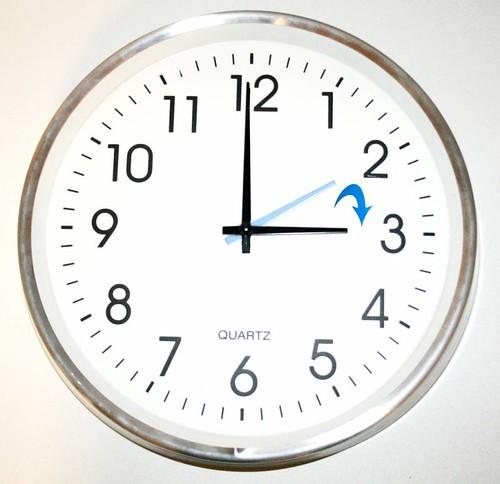 Cambio de hora – Horario de verano