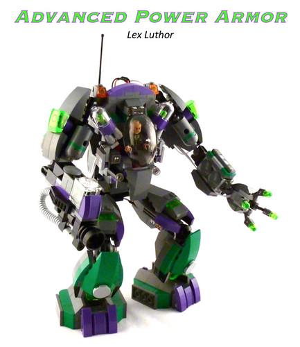 Lex Luthor's Advanced Power Armor