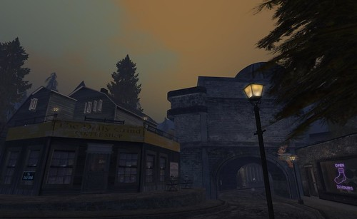 Sanity Falls - Town centre