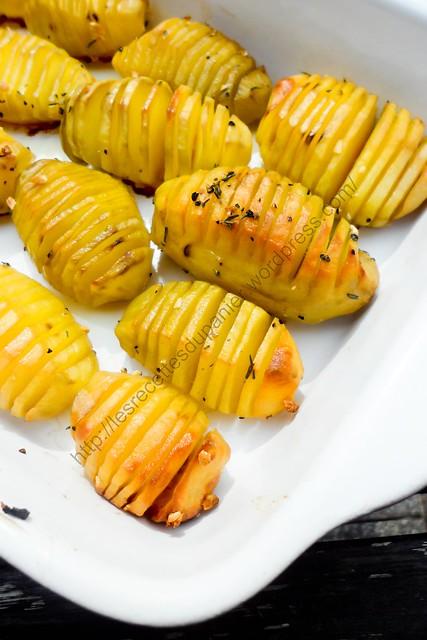 Pommes de terre à la suédoise / Hasselback Potatoes