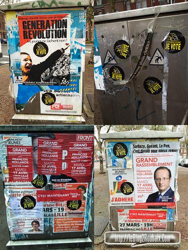 je pense donc je vote à roubaix, campagne contre l'abstention