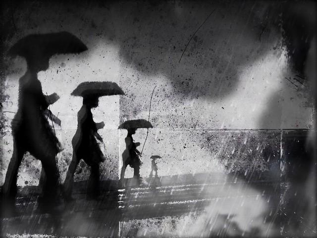 Mel Harrison: Storm raged overhead