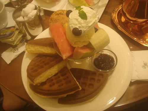 米朗琪_綜合水果鬆餅2