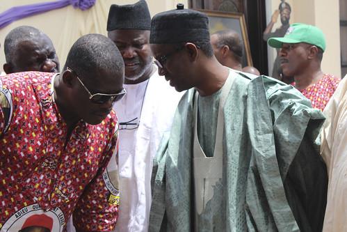 Nuhu Ribadu @ Dim Chukwuemeka Ojukwu's Funeral Services by Jujufilms