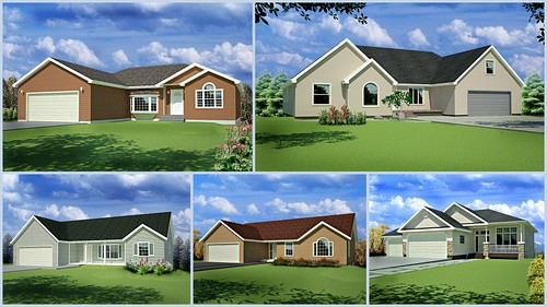 5 AutoCAD House Plans