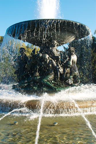 Die Skulptur von Stille Wasser