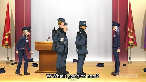 Gundam AGE Episode 18  Battle at the Graduation Ceremony Screenshots Youtube Gundam PH (14)
