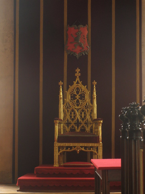Not the iron throne...