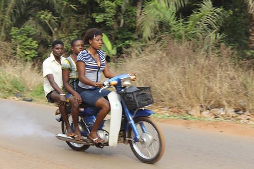 Obolo Village Female Motorcyclists by Jujufilms