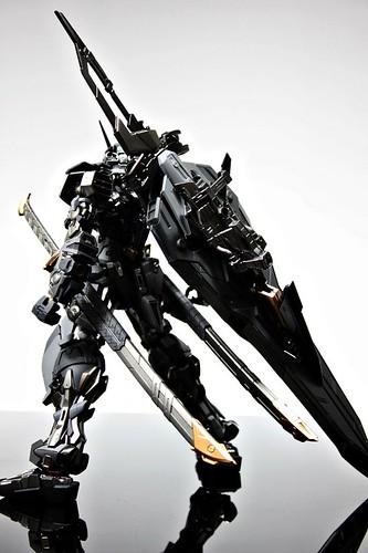 Stealth Version Gundam Astray Custom Painted Build (4)