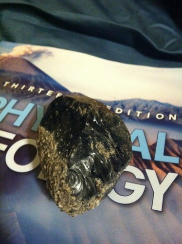 Obsidian Love (of Physical Geology)