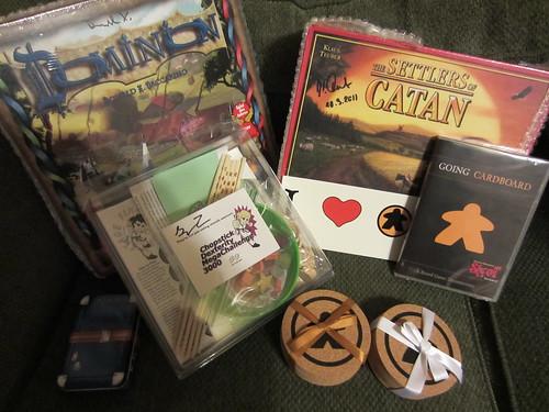 Goaing Cardboard Kickstarter Rewards