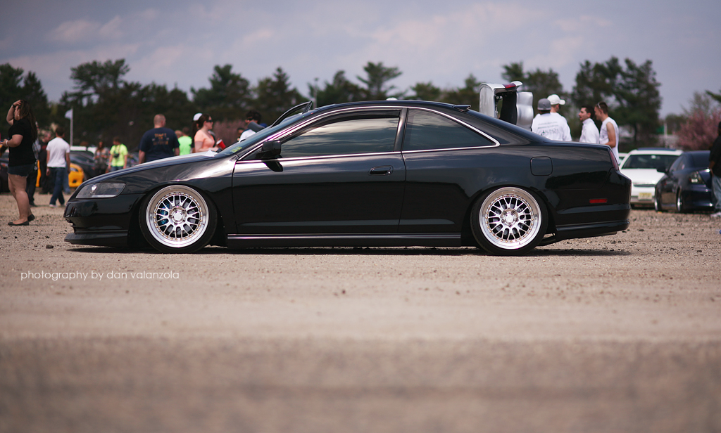 Slammed Honda Accord Coupe