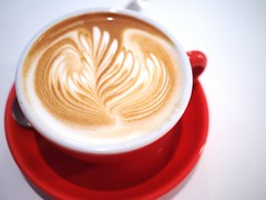 Flat White, The Plain cafe, 50 Craig Road, Tanjong Pagar