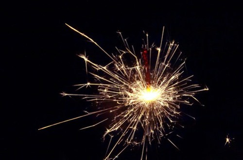 Sparklers - more random abstract oddness