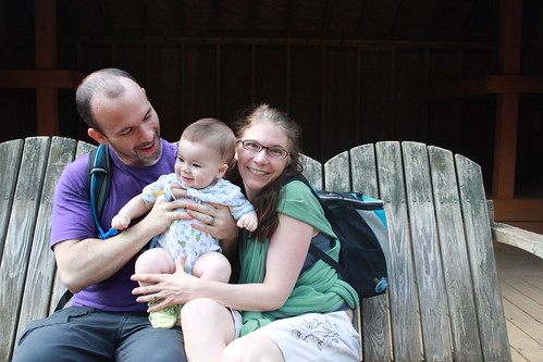 Manassas Gap Hike - Family Portrait 2