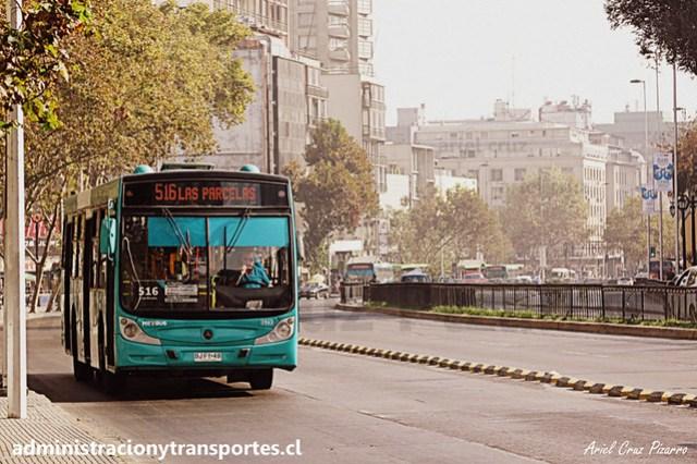 Transantiago - 516 | Metbus | Caio Mondego H - Mercedes Benz (BJFY49)