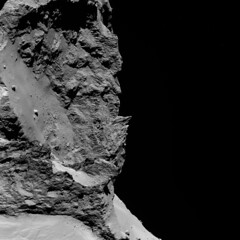 Comet 67P from a distance of 30 km