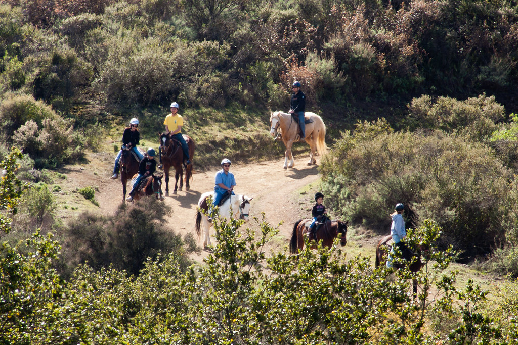 Horse back riding, Fremont Old Open Space Preserve