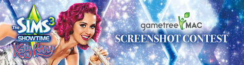GameTree Mac's Sims 3 Showtime Katy Perry Screenshot Contest!