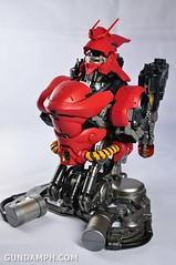 Formania Sazabi Bust Display Figure Unboxing Review Photos (55)