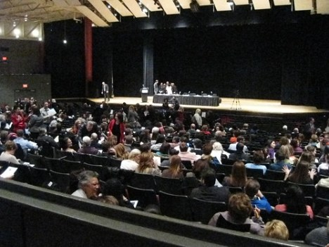 """The scene at """"More Than A Number"""" testing/evaluation symposium"""
