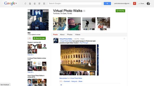 Virtual Photo Walks